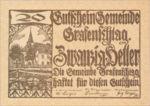 Austria, 20 Heller, FS 255