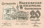 Austria, 20 Heller, FS 326