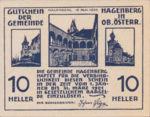 Austria, 10 Heller, FS 330a