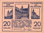 Austria, 20 Heller, FS 330a