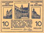 Austria, 10 Heller, FS 330b