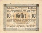 Austria, 10 Heller, FS 334Ia