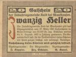 Austria, 20 Heller, FS 334Ib