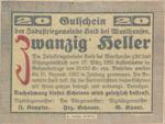 Austria, 20 Heller, FS 334Ic