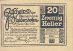 Austria, 20 Heller, FS 335Ib