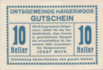 Austria, 10 Heller, FS 336