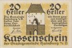 Austria, 20 Heller, FS 337a