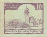 Austria, 10 Heller, FS 339