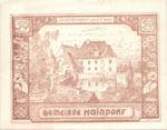 Austria, 50 Heller, FS 339