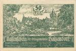 Austria, 50 Heller, FS 341IIa