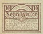 Austria, 10 Heller, FS 345
