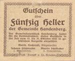Austria, 50 Heller, FS 347a