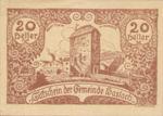 Austria, 20 Heller, FS 355