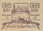 Austria, 20 Heller, FS 361IIc