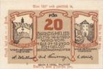 Austria, 20 Heller, FS 344IIe