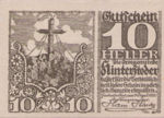 Austria, 10 Heller, FS 377a