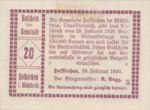 Austria, 20 Heller, FS 386Id2
