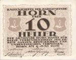 Austria, 10 Heller, FS 397IIa