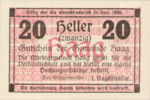 Austria, 20 Heller, FS 318Ib