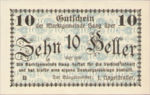 Austria, 10 Heller, FS 318Ih