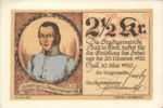 Austria, 2.5 Krone, FS 342IId