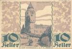 Austria, 10 Heller, FS 343a