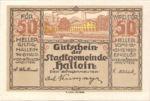 Austria, 50 Heller, FS 344IIa