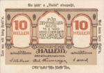 Austria, 10 Heller, FS 344IIf