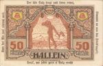 Austria, 50 Heller, FS 344IIf