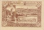 Austria, 20 Heller, FS 364