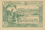 Austria, 10 Heller, FS 364