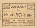 Austria, 50 Heller, FS 365Ia