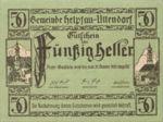 Austria, 50 Heller, FS 365Ib