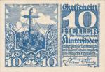 Austria, 10 Heller, FS 377c