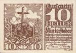 Austria, 10 Heller, FS 377e