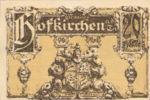 Austria, 20 Heller, FS 385a