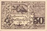 Austria, 50 Heller, FS 385aF