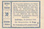 Austria, 30 Heller, FS 386Ib1