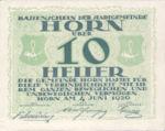 Austria, 10 Heller, FS 397IId