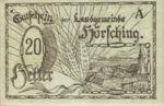 Austria, 20 Heller, FS 399br