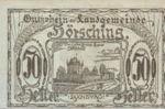 Austria, 50 Heller, FS 399cr