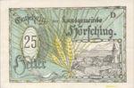 Austria, 25 Heller, FS 399fp