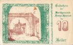 Austria, 10 Heller, FS 322a