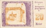 Austria, 20 Heller, FS 322a