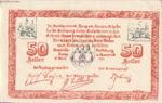 Austria, 50 Heller, FS 322a
