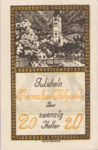Austria, 20 Heller, FS 384Ib