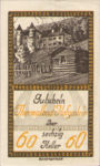 Austria, 60 Heller, FS 384Ib