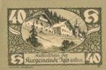 Austria, 40 Heller, FS 403