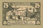 Austria, 75 Heller, FS 403