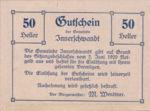 Austria, 50 Heller, FS 408